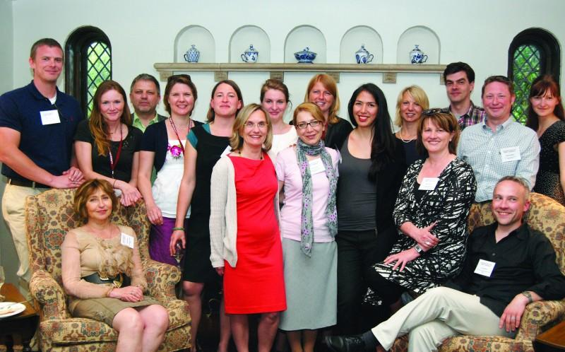 German teachers took part in this year's Fulbright seminar,