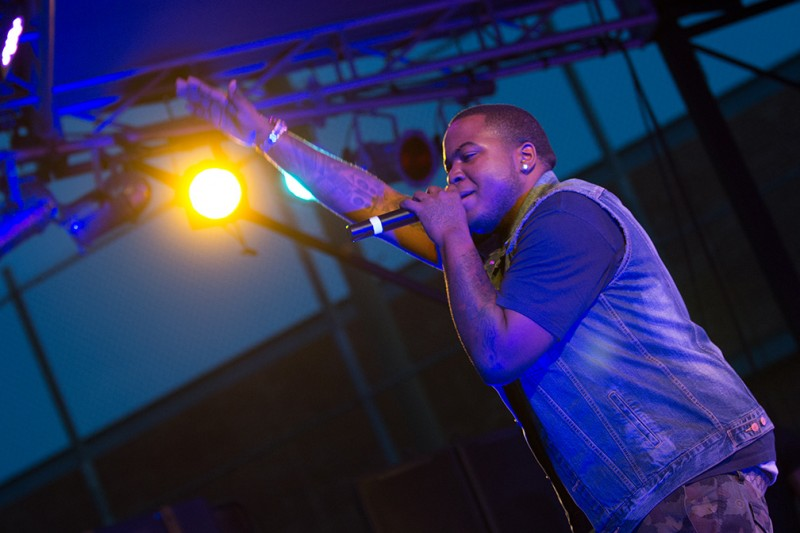 Photo Gallery: Sean Kingston visits Trinity