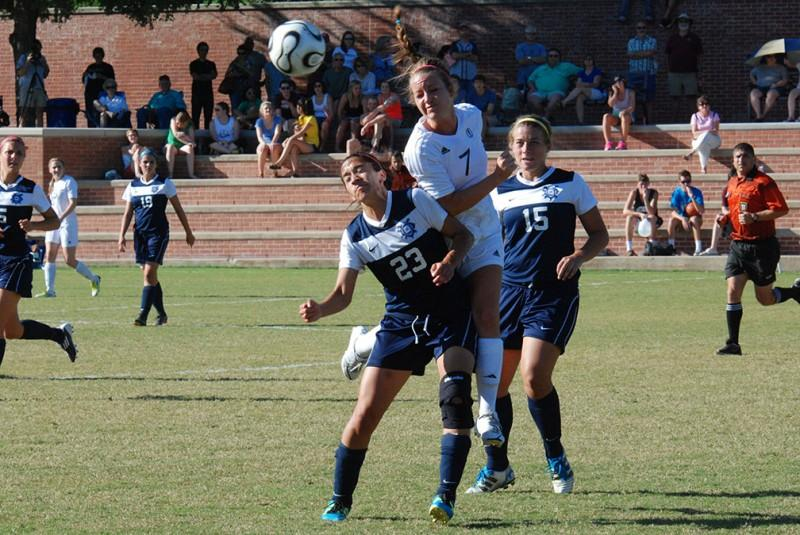 Photo Gallery: Women's soccer competes with University of Dallas