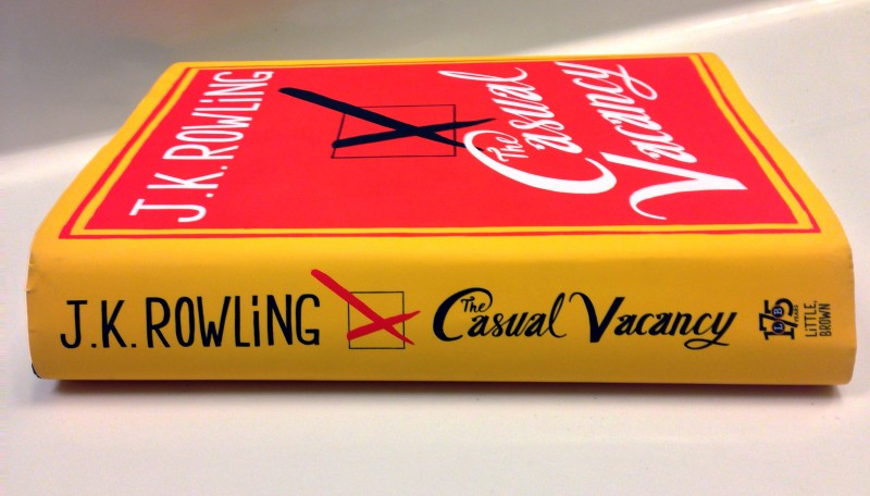 %22The+Casual+Vacancy%22+by+J.K.+Rowling+hit+bookstores+last+Thursday%2C+Sept.+27.