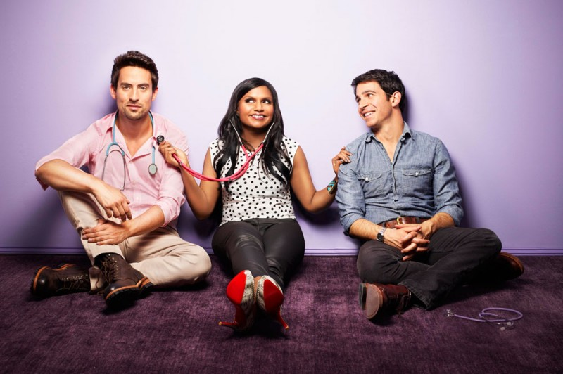 Ed Weeks, Mindy Kaling and Chris Messina star in