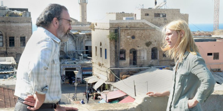 Mandy Patinkin and Claire Danes star in Homeland on Showtime. Photo courtesy of Showtime.