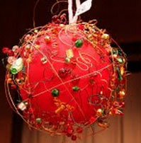 Mindy Morales, computer aided drafting technician for Campus Planning and Sustainability won last year's contest with her ornament pictured above. See Ruth Taylor courtyardfor this year's entries. Photo courtesy of Deborra Finlan-Cardenas.