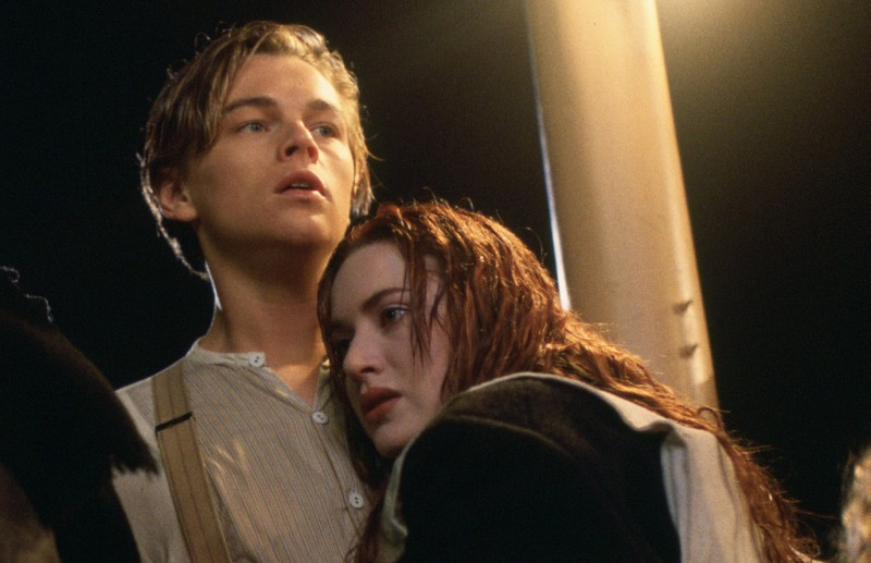 Leonardo DiCaprio and Kate Winslet star in James Cameron's