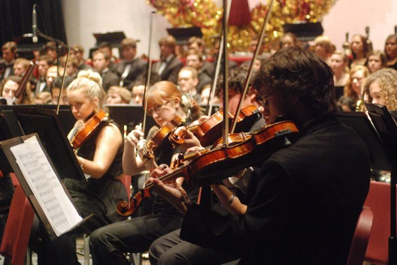 Photo Gallery: Laurie Auditorium hosts annual Christmas concert