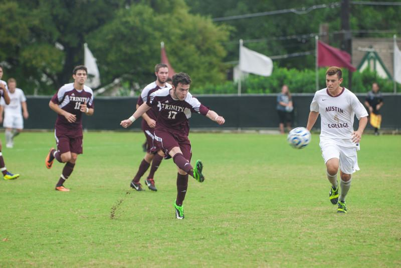 Men's soccer dominates conference competition with home wins over Centenary and Austin College
