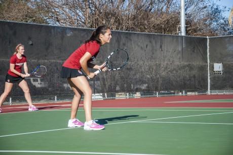 Women's Tennis. Photo by Matthew Brink.