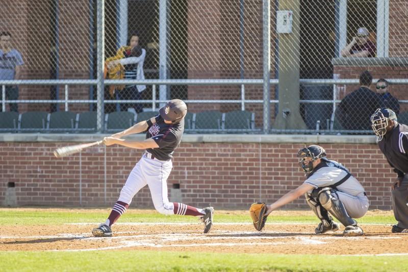 Trinity Baseball. Photo by Nayeli Perez.