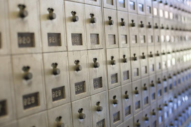 Mailboxes. Photo by Anh-Viet Dinh.