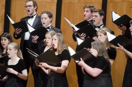 Spring Choir Concert. Photo by Eva Littman.