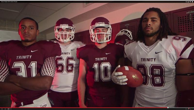 Trinity+Football%3A+2014+Uniform+Reveal