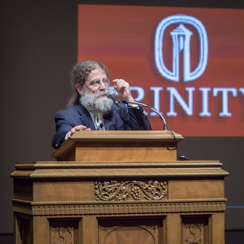 Neurobiologist+and+primatologist+Sapolsky+speaks+on+being+human
