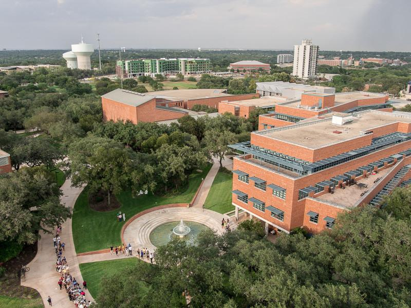 The university's strategic plan and campus master plan share the intention to expand the Trinity experience, both figuratively and literally. File photo