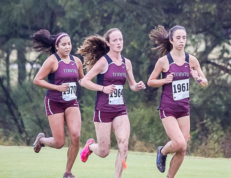 Trinity women's cross country racing to regionals after SCAC