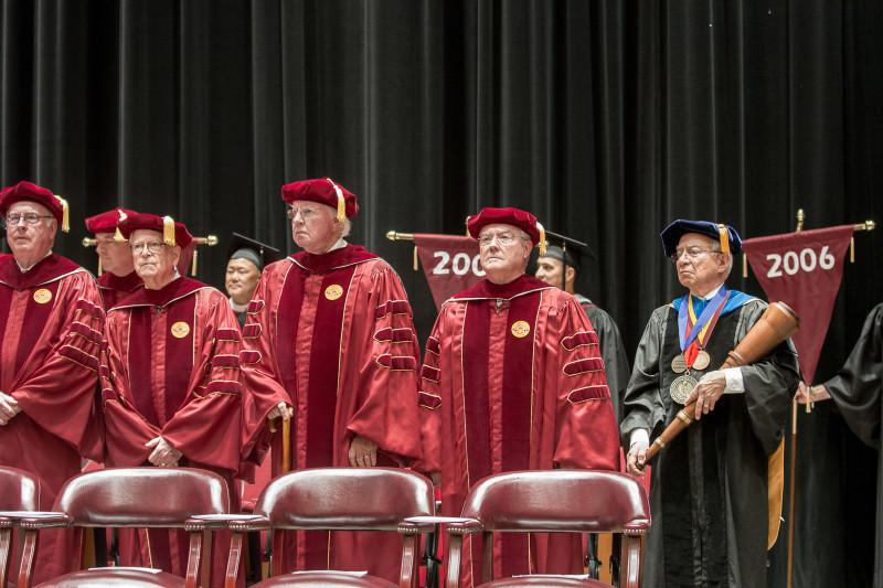 Investiture of president Danny Anderson