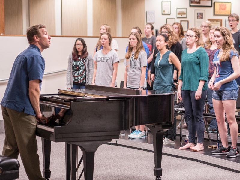 Trinity musicians present performances with purpose