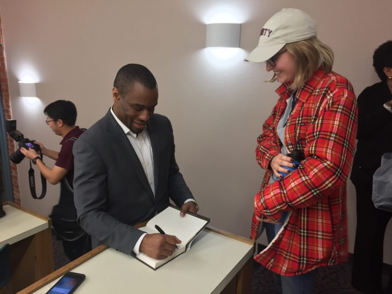 MLK Jr. commemorative lecture features author and professor Marc Lamont Hill