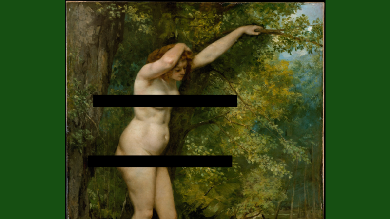 Gustave Courbet's