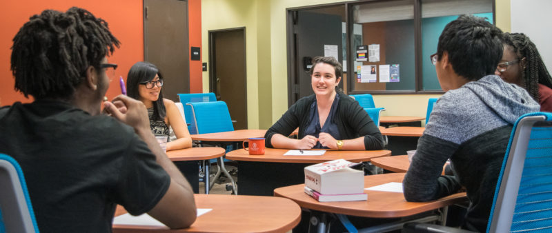 Aspiring professors encourage classroom improvements
