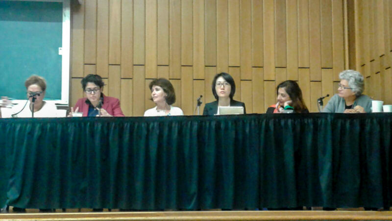 Iran in the World allowed discussion of Irans place in international affairs. Photo provided by Sussan Siavoshi