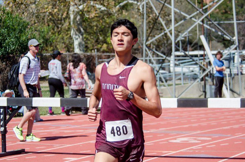 Senior Michael Erickson will compete for the long-distance track team in the spring. File Photo