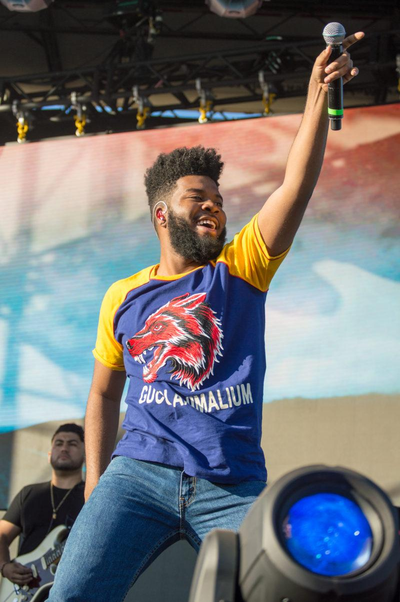 KHALID takes the stage during Mala Luna Music Festival. For a relatively new festival event, Mala Luna has been incredibly successful, and will return in 2018. photo by CHLOE SONNIER