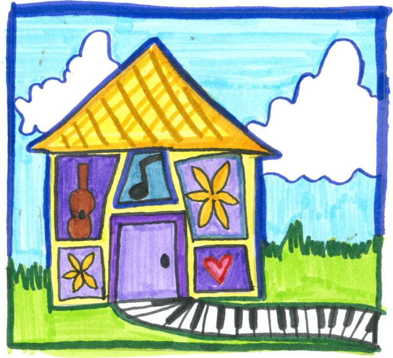 Sunshine cottage brings joy to hearing impaired children. Illustration by Madelyn Gaharan