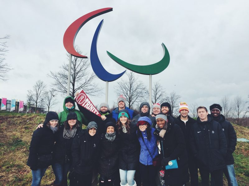 The Sport in London program travelled abroad for two weeks. photo provided by Hailey Wilson, sports reporter