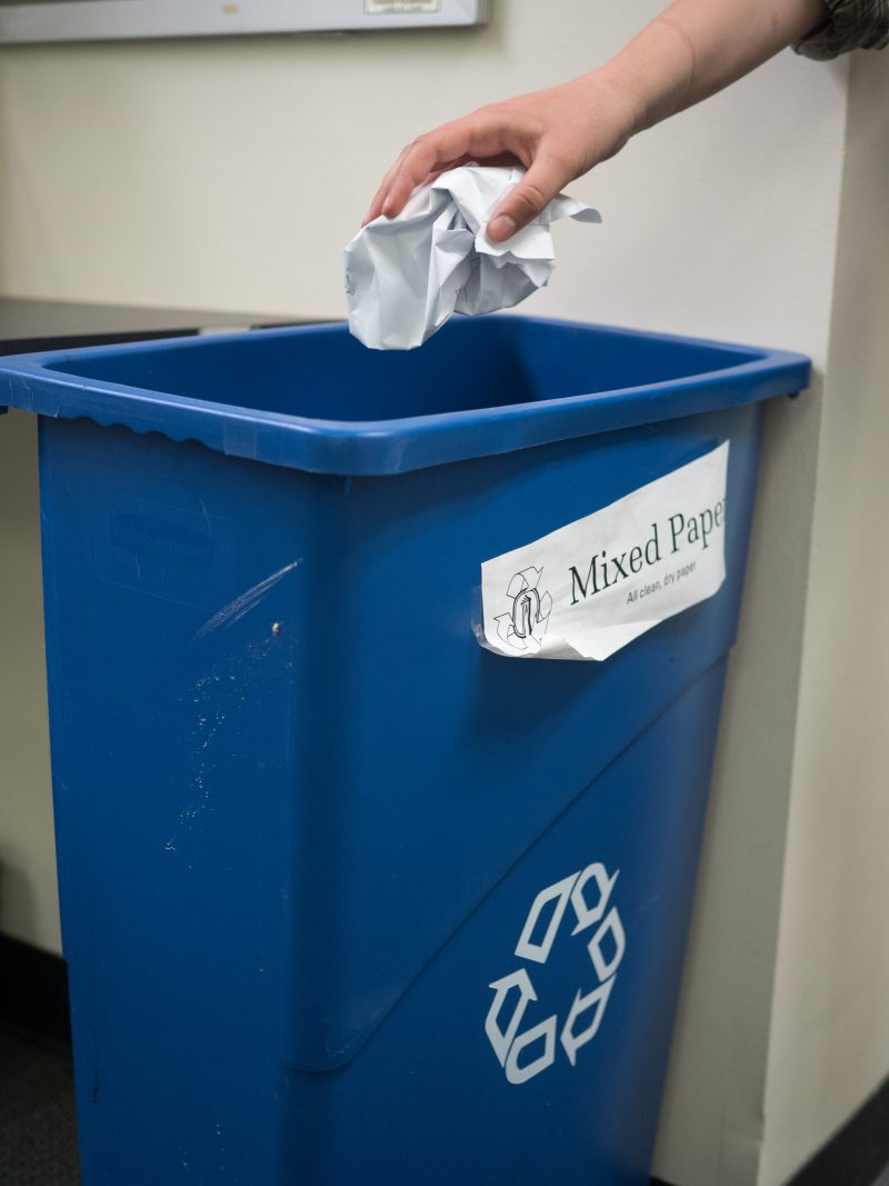 Trinity implements new sorting policy for recyclables