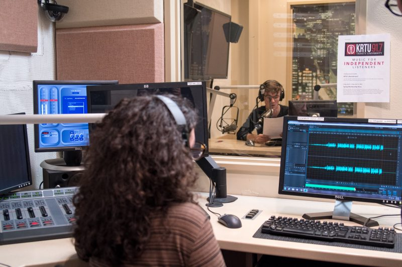 Audio Production class ushers students into new age of podcasting
