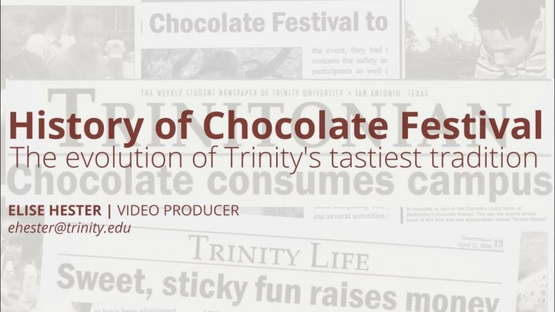 Video: History of the chocolate festival