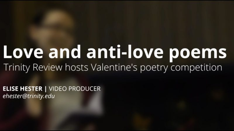 Poets straddle line between love and anti-love