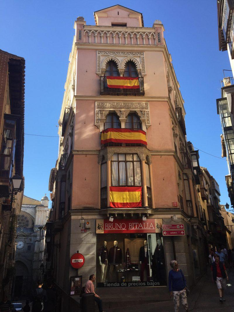 Catalonia was a turbulent region over the summer. photo provided by Soleil Gaffner