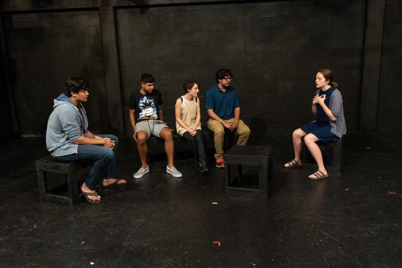 Photo by Roberto Prestigiacomo Rohan Walawalker, Jullian Valadez, Chiara Pride, Miguel Garcia, Julia Palmer