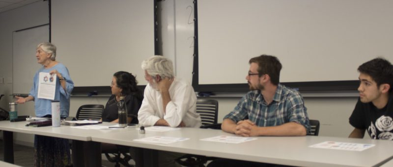 Left to Right: Meredith McGuire, Jessica Guerrero, Richard Reed, Mitch Hagney, Ian Dill