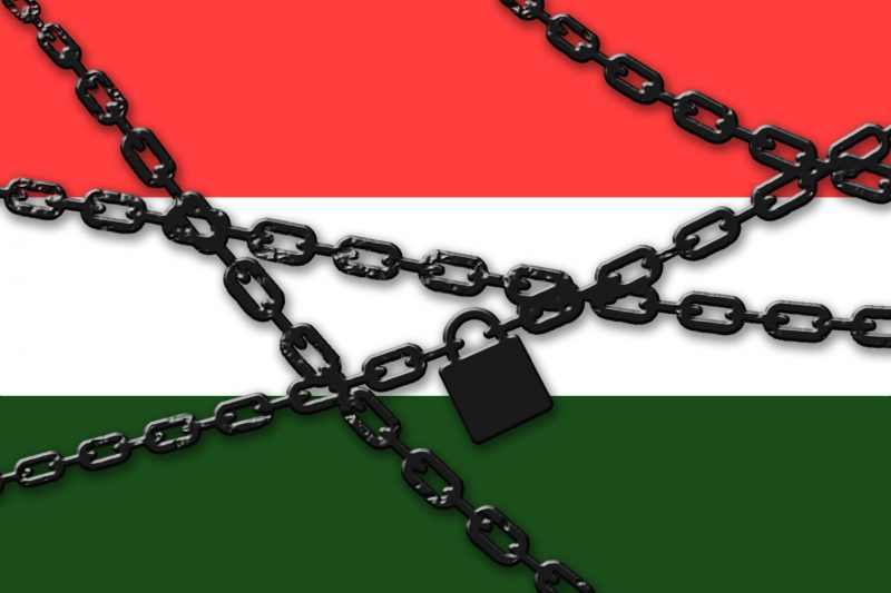 Hungary under lock and key