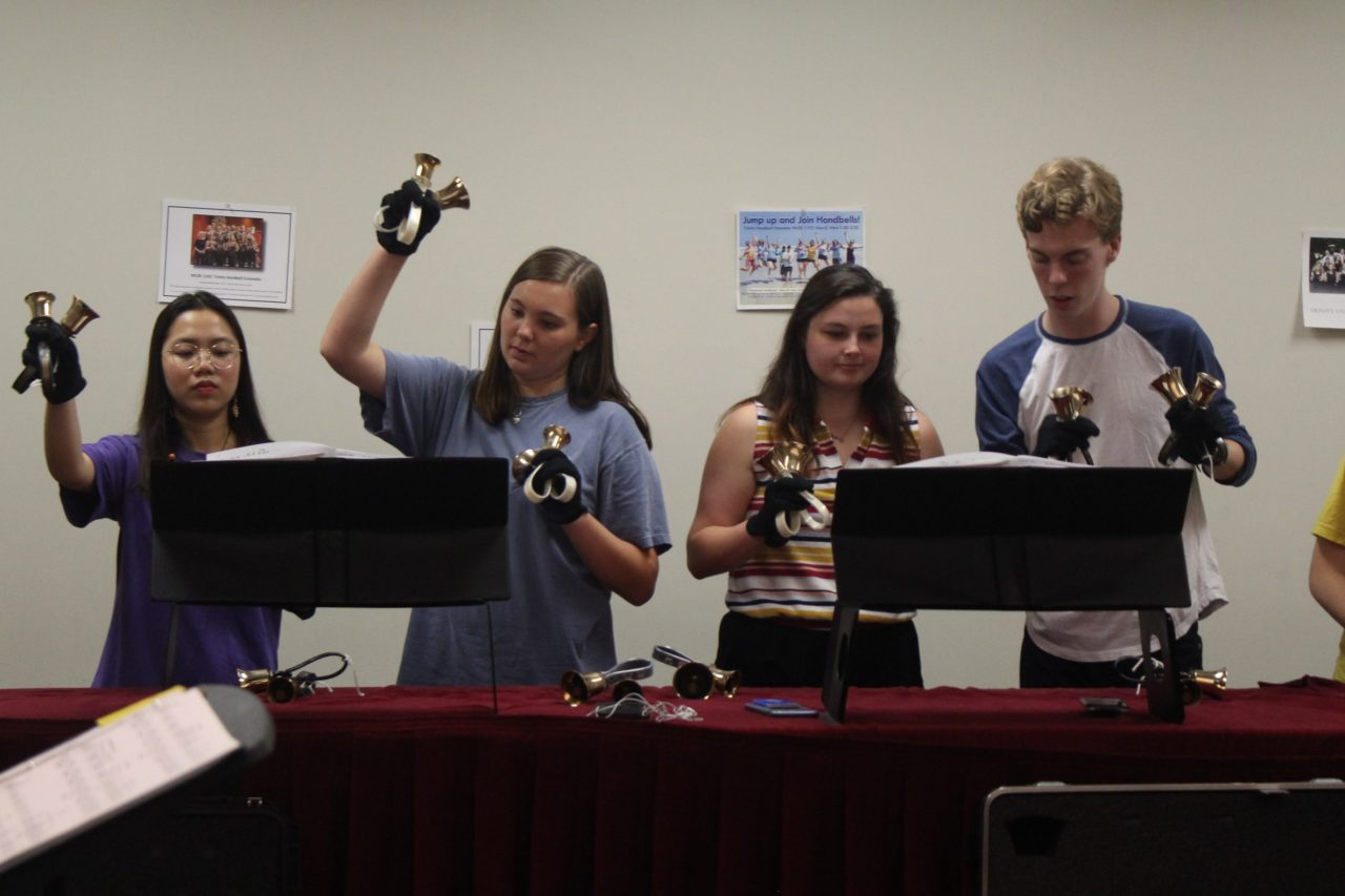 The Handbell Ensemble takes their talents on the road