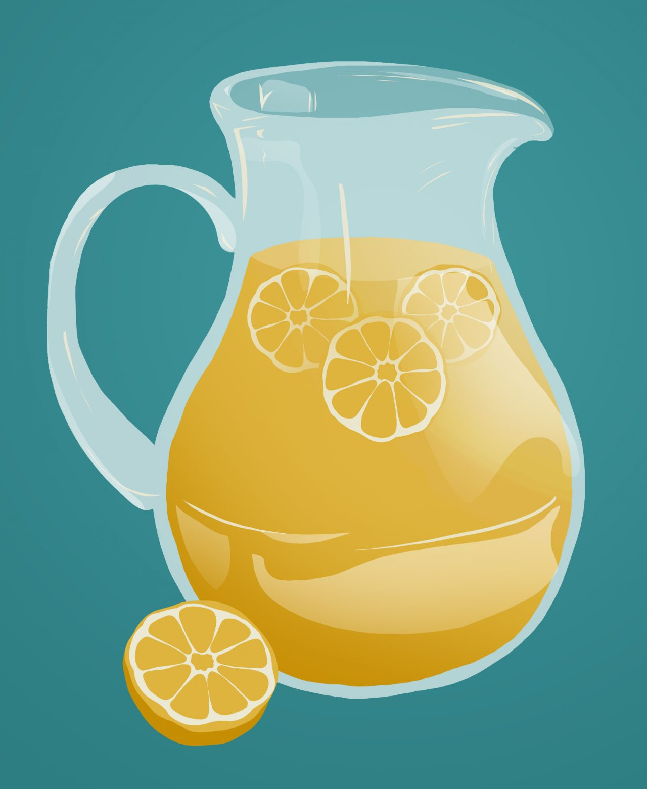 a jug of lemonade Photo credit: Andrea Nebhut