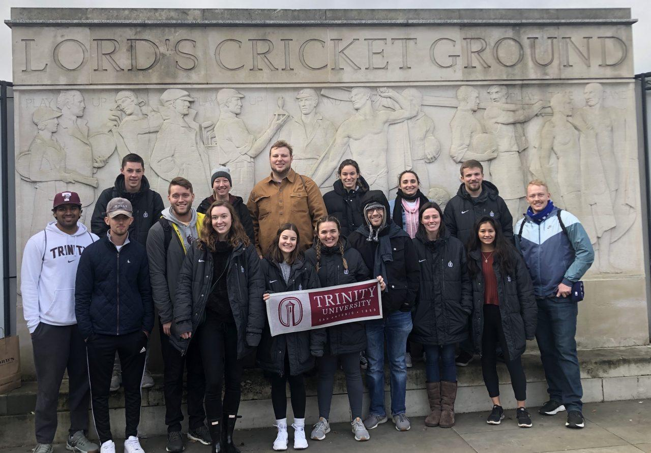 Course takes students across the pond