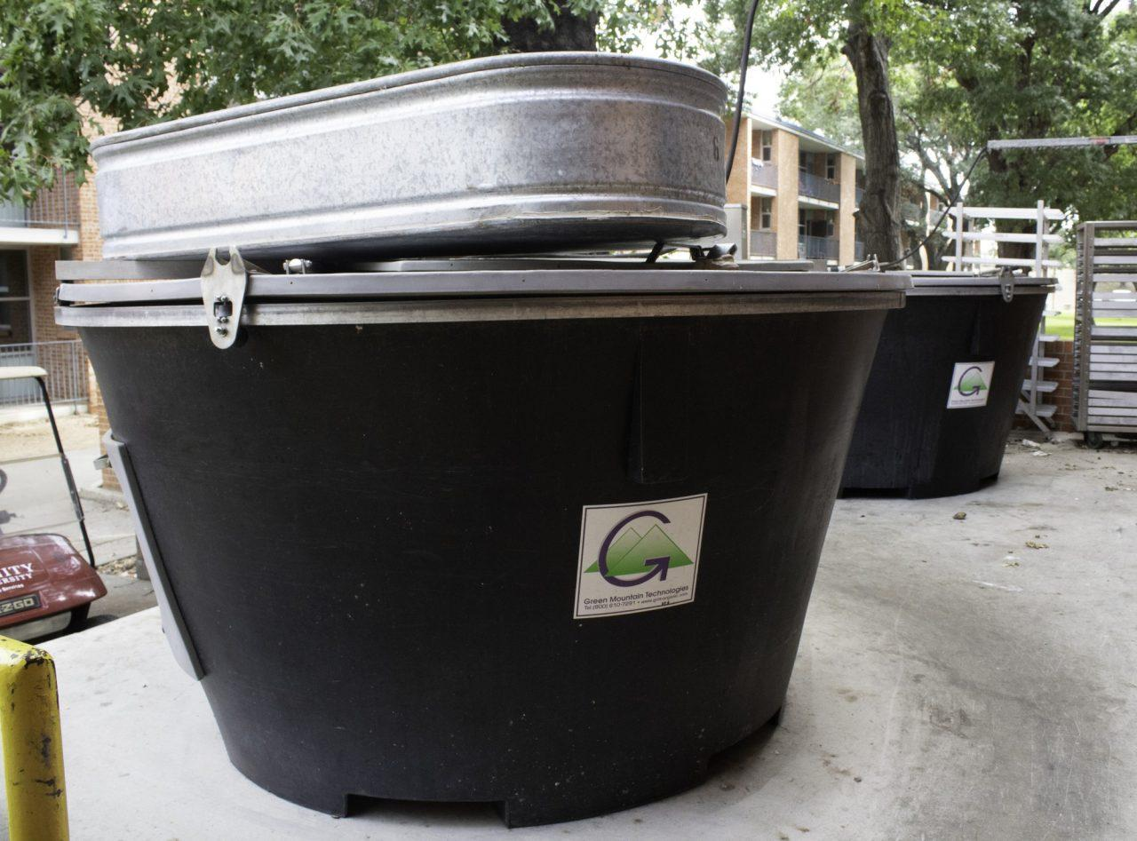 Composting in Mabee still on pause