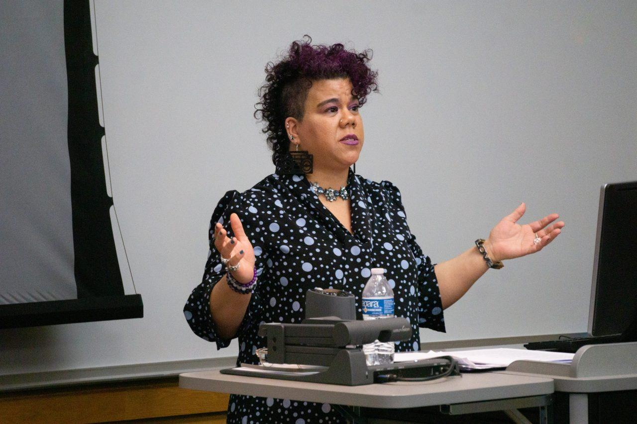 Rosa Clemente gives Lennox lecture