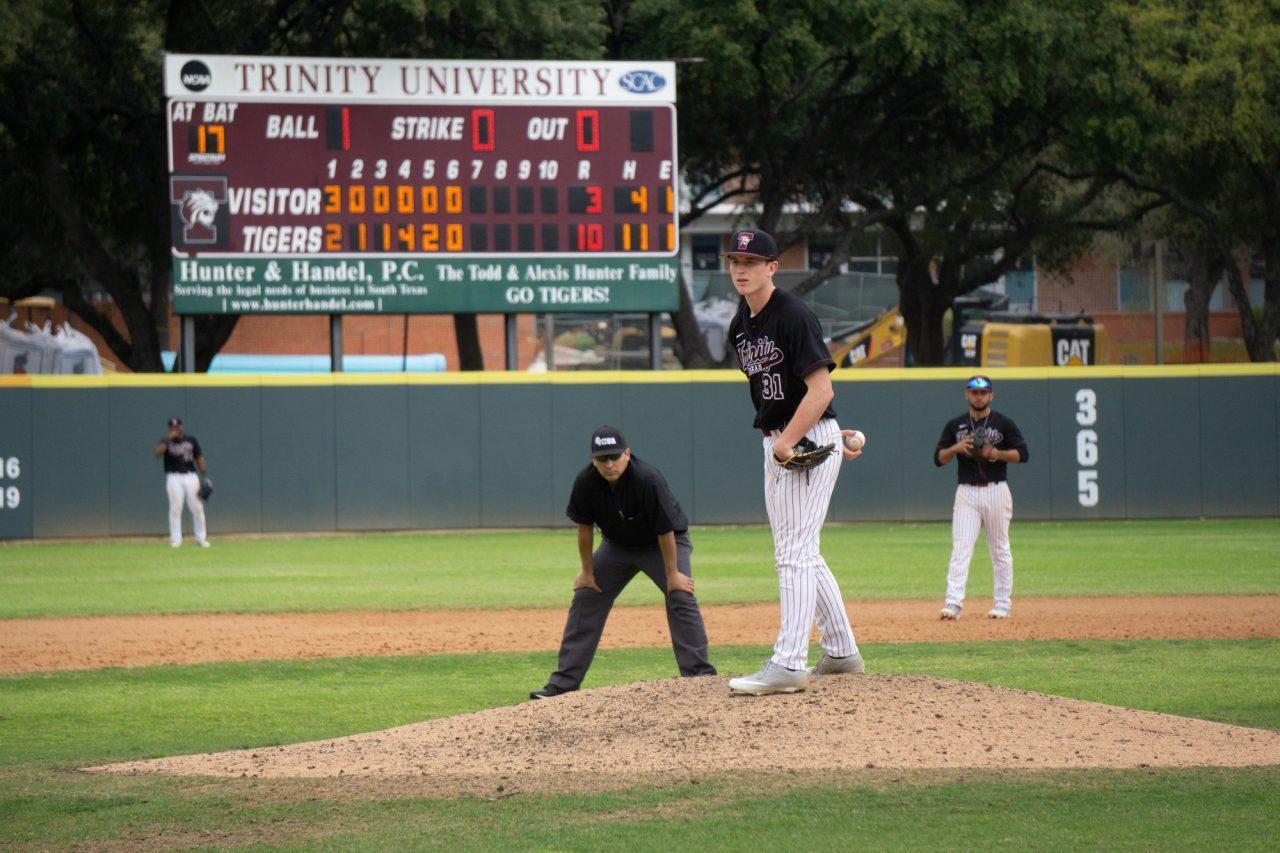 Baseball sweeps Endicott College