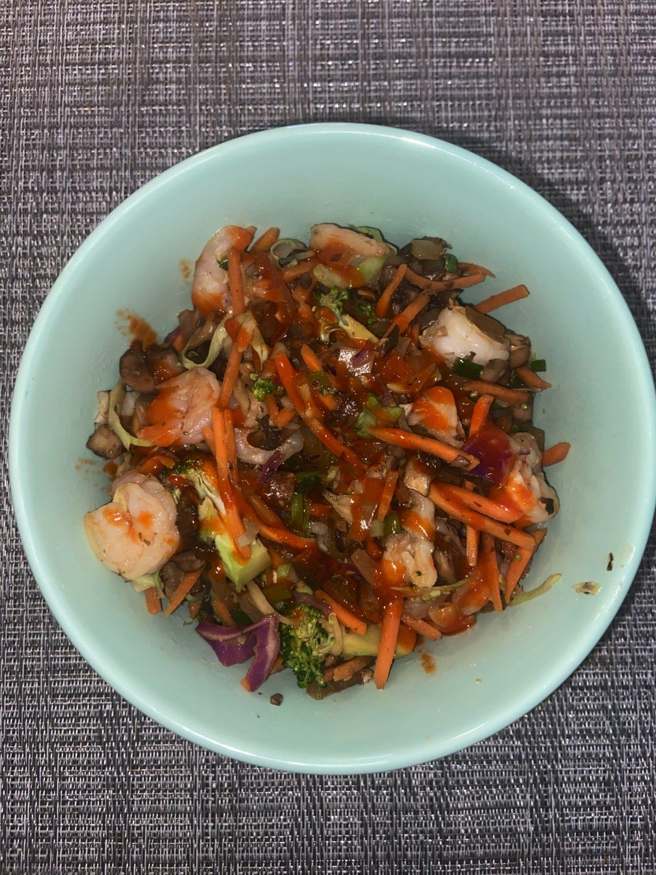 Shrimp stir fry recipe to cook in a pinch