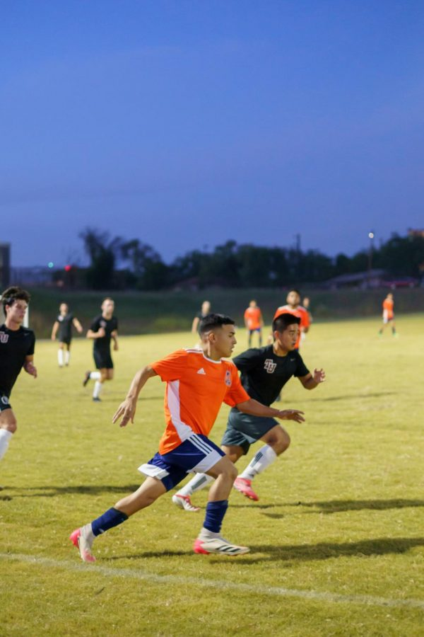 Mens club soccer loses first home game