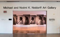 Self-portrait photography by Mari Hernandez open at Neidorff Art Gallery