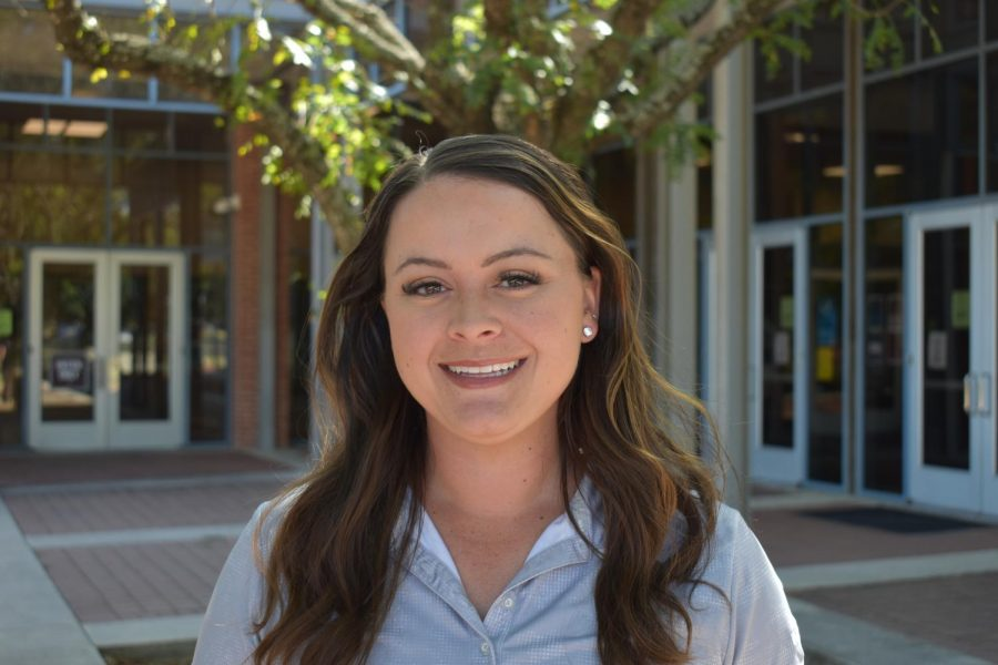 2018 graduate Shelby DeVore returns to Trinity as Head Womens Golf Coach after three years.