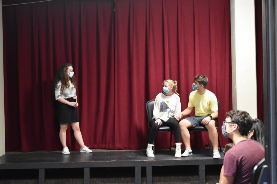 Theatre back on-stage with physical audience following virtual semesters